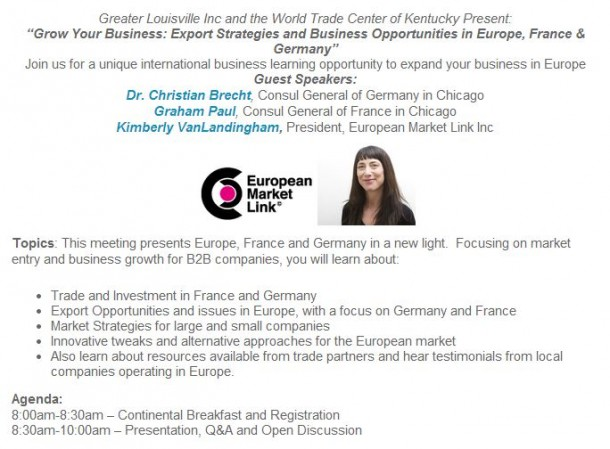 Opportunities and strategies for growth in Europe, France and Germany