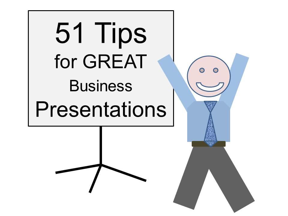 online business presentation training tips