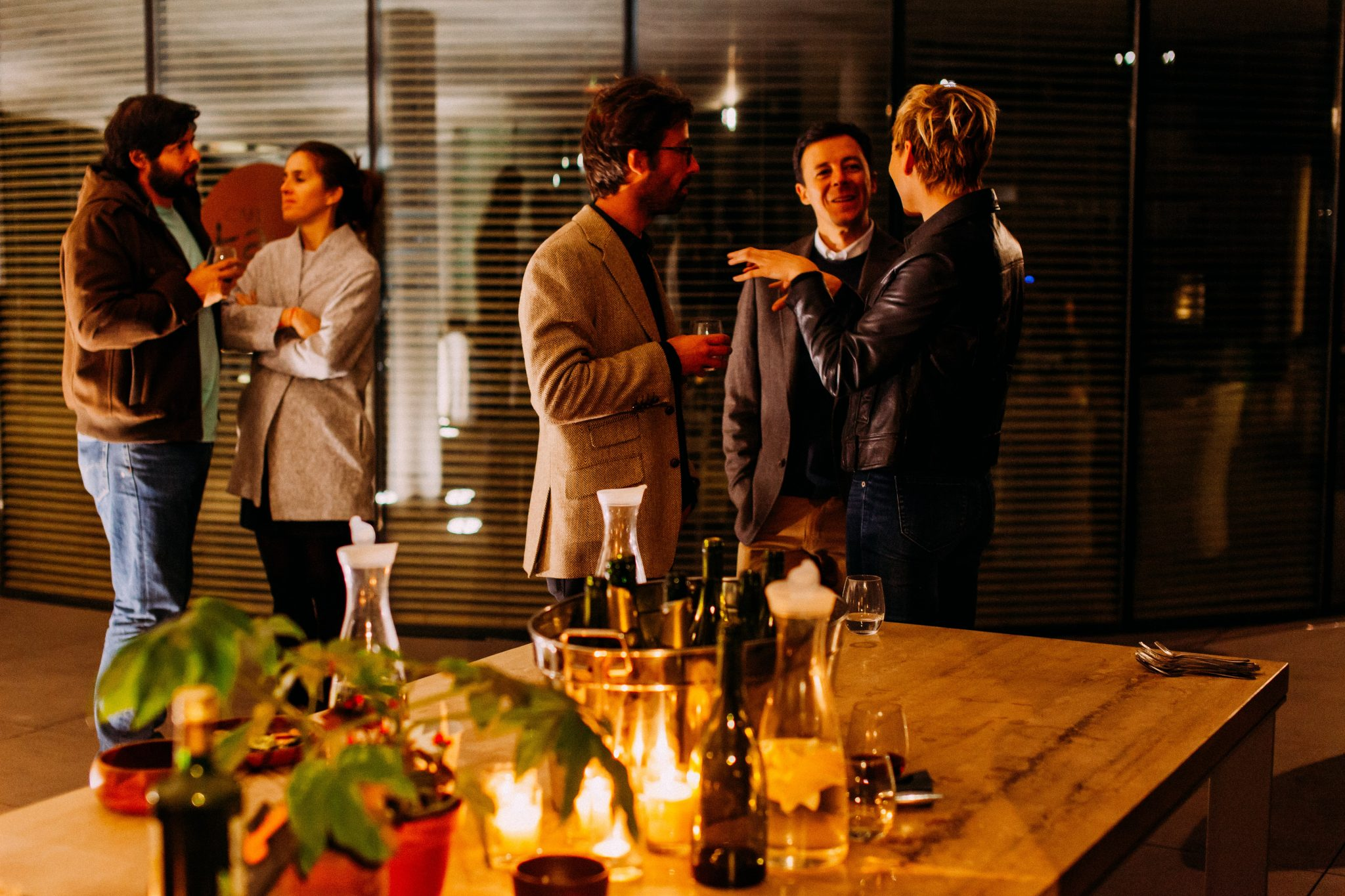 Business networking: How to talk to strangers at a business event?